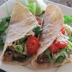 Photo of Black Bean-Cauli Tacos with Homemade Tortillas by The Health Seeker's Kitchen