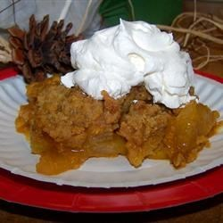 Pumpkin Apple Cobbler