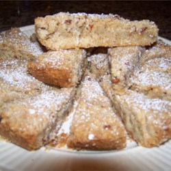 Spiced Pecan Shortbread Recipe