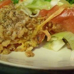 Leek Tomato Dish