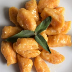 Sweet Potato Gnocchi with Sage-Butter Sauce