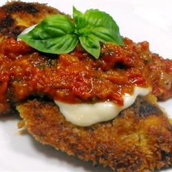 Photo of Crispy Italian Chicken Topped with Mozzarella by PMJNSTN