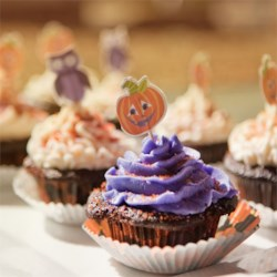 Black Magic Cupcakes with Buttercream Icing