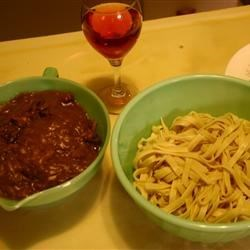 Beef & Noodles - A family tradition