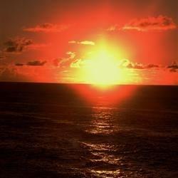 Hawaiian Sunset.