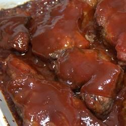 Tangy BBQ Ribs Recipe