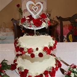 Our wedding cake...