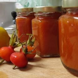 Rose Hip Freezer Jam