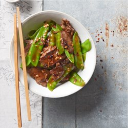 Dinner recipes allrecipes asian beef with snow peas recipe and video stir fried beef with snow peas forumfinder Images