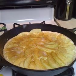 Fresh Apple Omelet Recipe