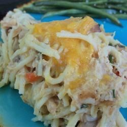 Chicken tetrazzini recipes easy