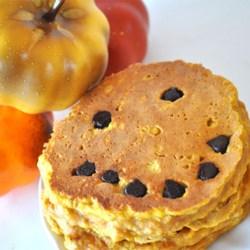 Jack-O-Lantern Pumpkin Pancakes Recipe