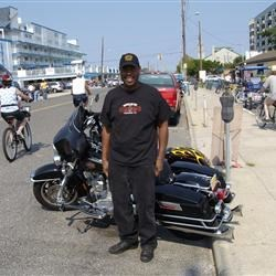 Me and my Hog at Wildwood Bike Week 2007