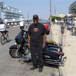 Me and my Hog at Wildwood Bike Week 2007