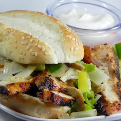 Chicken Sandwiches with Zang Recipe