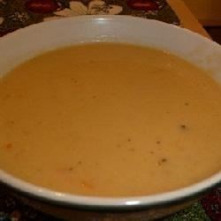 Cheesy Leek and Mustard Soup Recipe