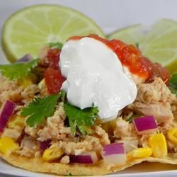 Photo of Tuna Lime Tostadas by KMOUSE