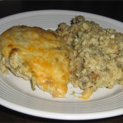 Cathy's Creamy Chicken Bake Recipe