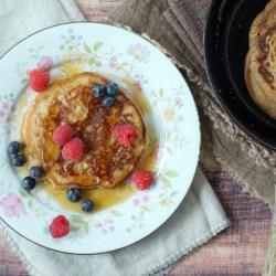 spelt pancakes printer friendly