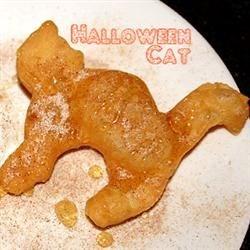 Halloween Cat Sopapilla