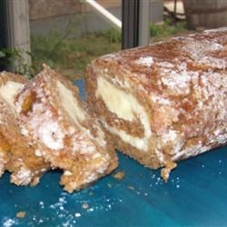 Lady Sparkle's Pumpkin cheesecake roll