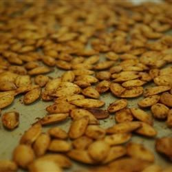 Photo of Crispy, Crunchy Pumpkin Seeds by Leanna the Squirrel