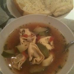 Joe's Mom's Sausage and Tortellini Soup Recipe