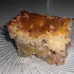 Canadian Honey Apple Walnut Cobbler