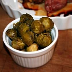 Photo of Sweet & Sour Brussels Sprouts by USA WEEKEND columnist Jean Carper