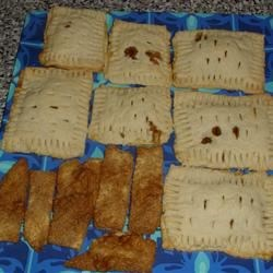 Home-made cinnamon brown sugar poptarts