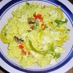 Three Pepper Pilaf