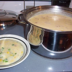 Corn Chowder IV Recipe