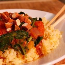 Photo of Vegan Coconut Curry with Spinach over Millet by Heather: Healthy Vegan Recipes