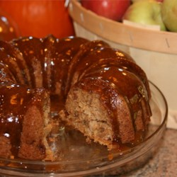Image of Apple Harvest Pound Cake With Caramel Glaze, AllRecipes