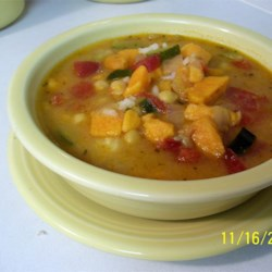 Spicy African Yam Soup Recipe