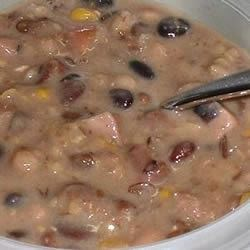 Sixteen Bean Sour Cream Soup