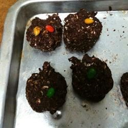 Brownie Oat Cookies Recipe