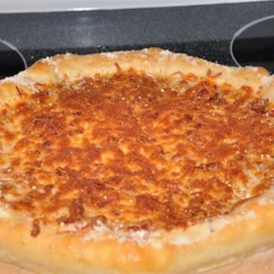 Stuffed Crust Bacon Pizza