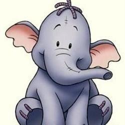 Little purple elephant