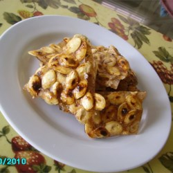 Pumpkin Seed Beer Brittle