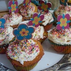 cupcakes my niece and I made
