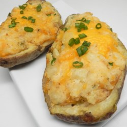 Easy Fast Vegan Twice-Baked Potato