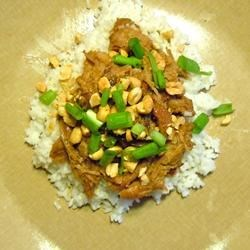 Photo of Slow Cooker Thai Pork with Rice by LAGIRL