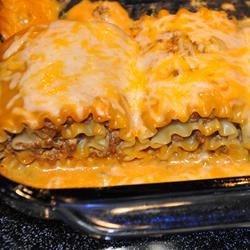 Mexican Lasagna Rollups--AR