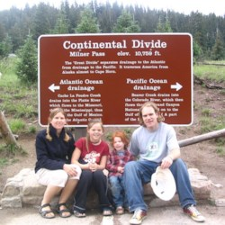 Sweeny Family In The Rockies