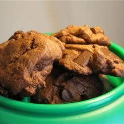 Thick Mint Chocolate Chip Cookies Recipe