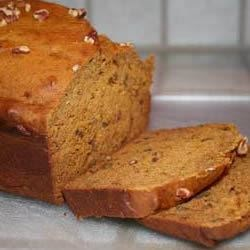 Banana Nut Pumpkin Bread