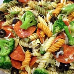 Rainbow Pasta Salad I Recipe
