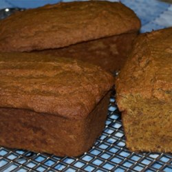 Pumpkin Flax Quickbread Recipe