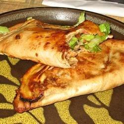 Oven tacos with shredded pork